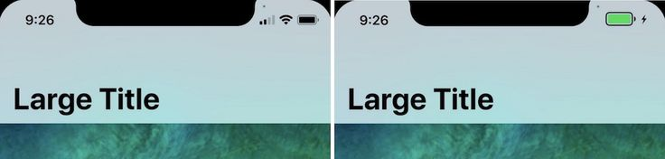'iPhone X' Split Status Bar Leak Shows Off Animated Battery Icon and Screen Recording Indicator https://link.crwd.fr/3GFM