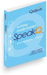 WordQ/SpeakQ on the other hand, is for those who can type but who have trouble writing and reading in the first place. They can benefit from a combination of word prediction, speech output and speech input to generate text when stuck spelling.
