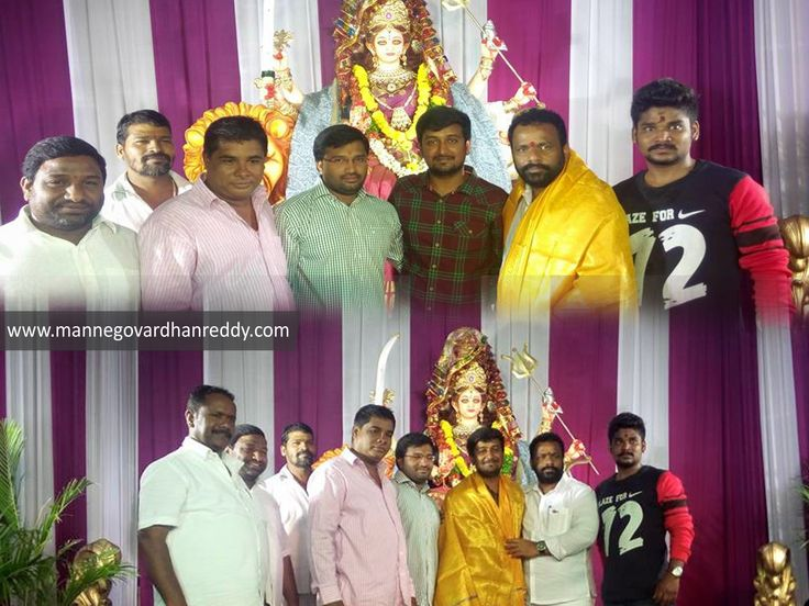 Manne Govardhan reddy garu Khairtabad incharge & Contested MLA attend 7th day of Navratri puja@ himyathnagar division. #MGR, #TRSParty, #Khairatabadconstituency, #Navratri, #Puja
