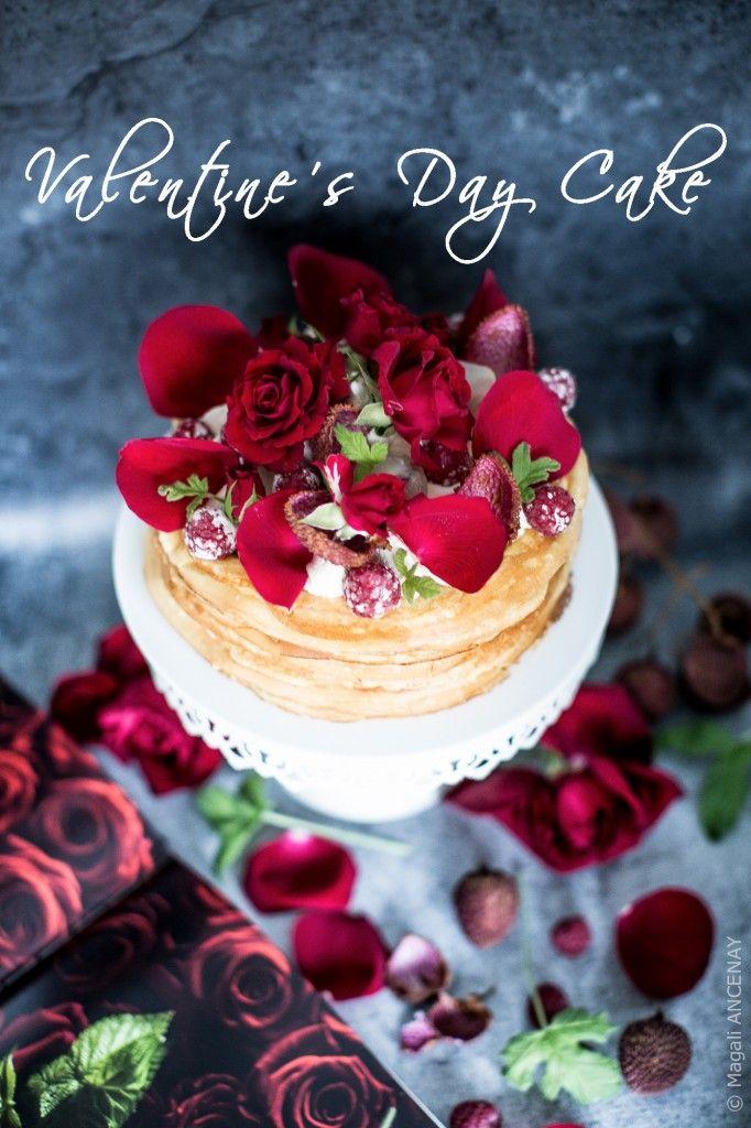 Gâteau de la Saint Valentin - Quatre Saisons Au Jardin