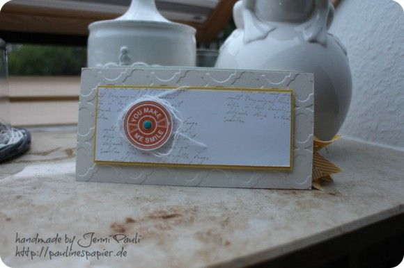 Stampin'Up! USConvention 2013 minialbum, couponbook with tutorial inch measurement photos& video(in German)