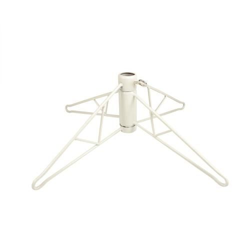 White Metal Christmas Tree Stand For 8.5' - 9.5' Artificial Trees