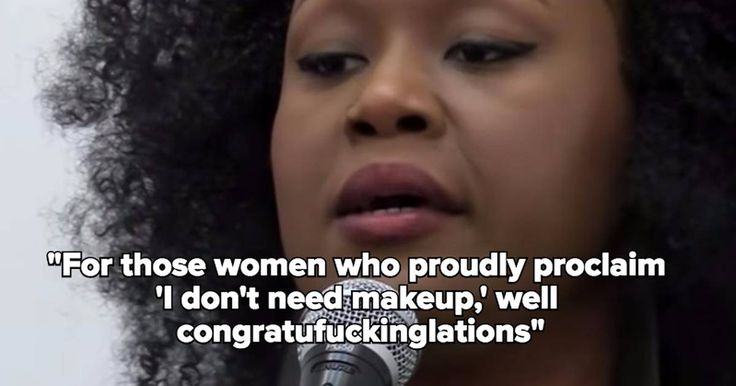 This Poem Could Redefine How You See Makeup
