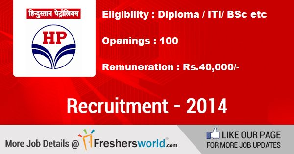 For Details @ http://www.freshersworld.com/jobs/hpcl-recruitment-for-technician-instrumentation-across-india-100955 Last Date : 10 Nov 2014