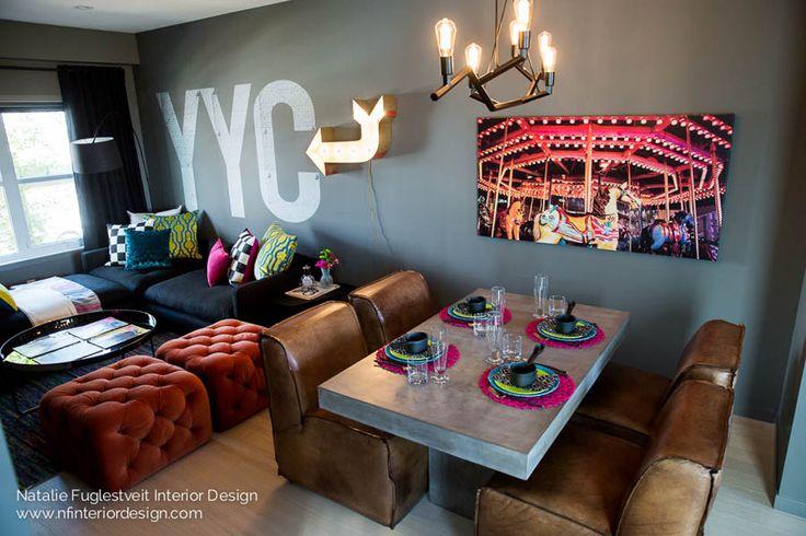 Garage Grunge by Calgary Interior Designer, Lindsay Nichols Photography Art & Wall Cling