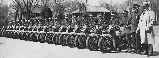 Motorcycle Police Minneapolis Ca 1935 Minnesota Historical Society Photograph Collection Minnesota Historical Society Historical Society Minneapolis