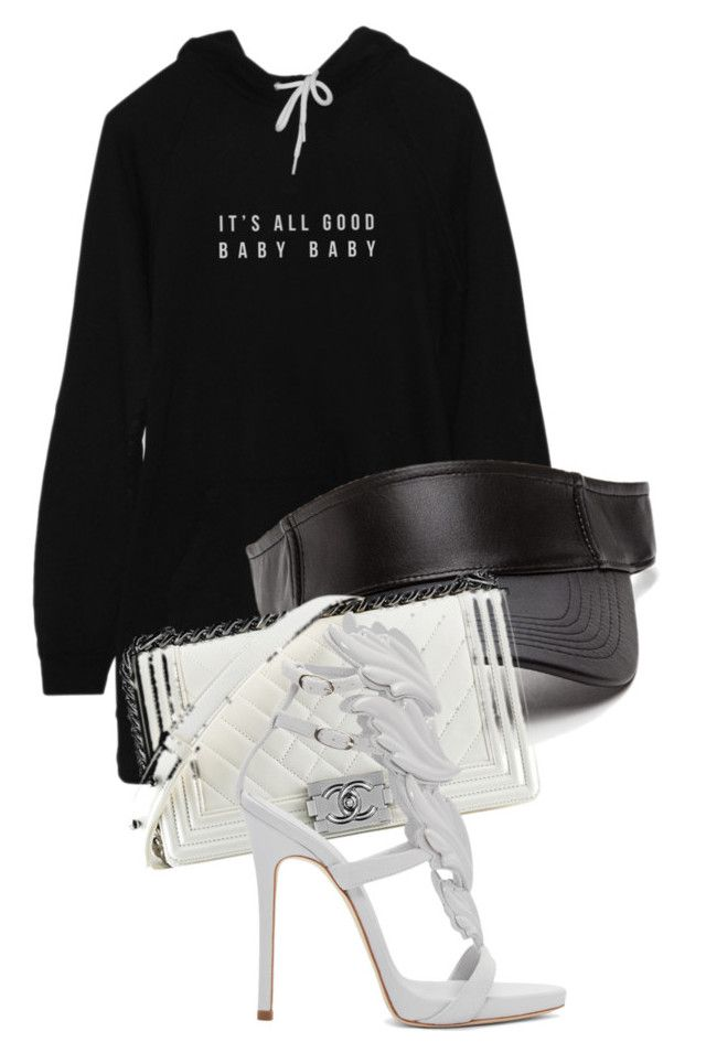 """Untitled #1660"" by princess-maya13 ❤ liked on Polyvore featuring Chanel and Giuseppe Zanotti"