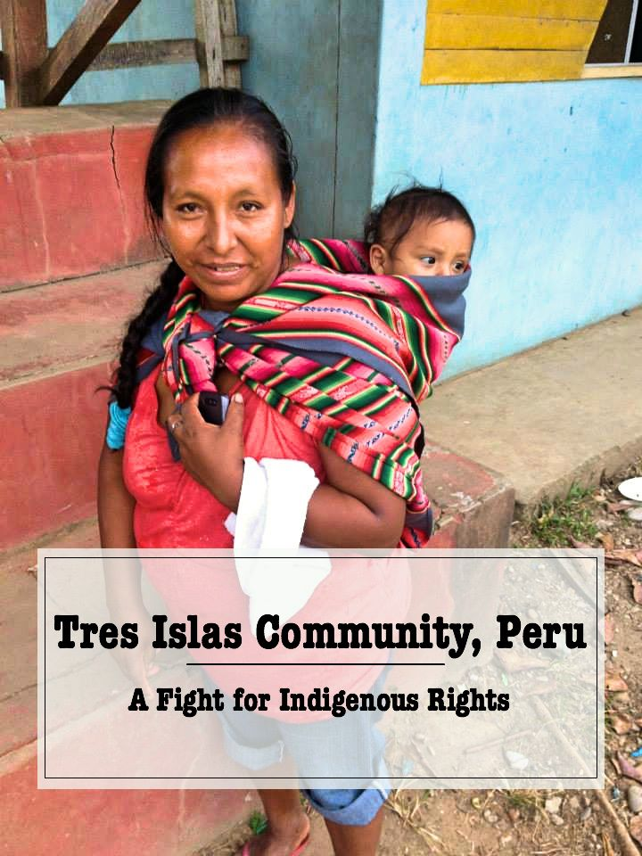 Tres Islas Community, Peru - A fight for Indigenous Rights I'm a travel blogger, yes, but I'm also an anthropology student and this is why I find important to write about anthropological matters in the context of my travels. This is why I decided to tell y… Travel, blog, traveler, backpacker, backpacking, travel tips, world traveler, travel blogger, travel blog, Peru, Madre de Dios, Indigenous community, Anthropology, Indigenous Rights, Field School, traveling with a purpose