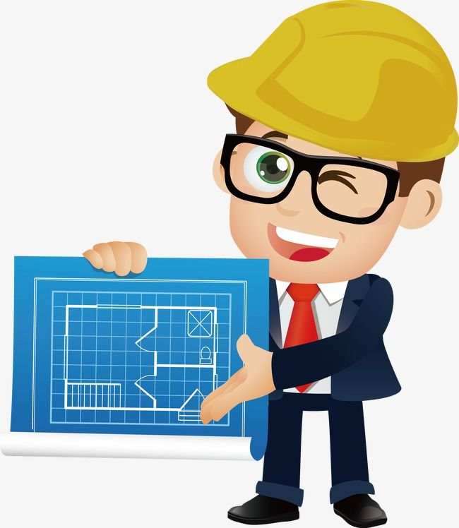 Engineer Construction Worker Safety Png And Vector With