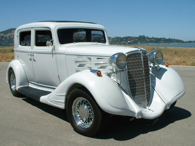 1934 Nash Advanced 8 Street Rod