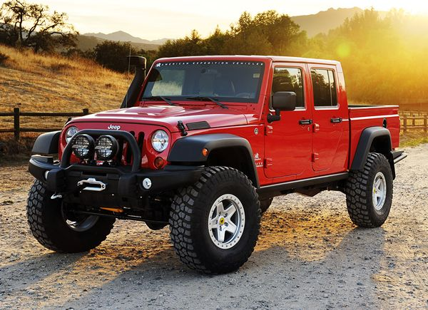 Luxury Off-Road Vehicles   Contemporary Off-Road Vehicle: AEV Brute Double Cab