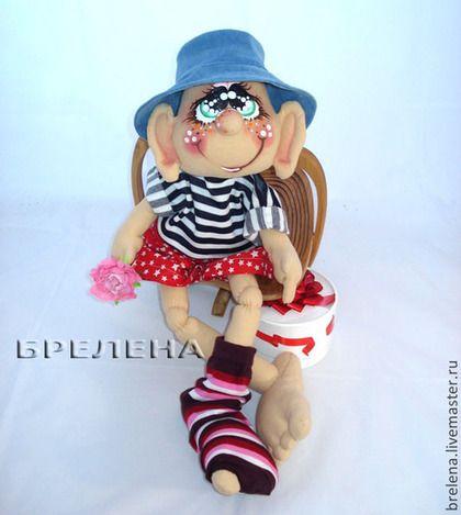 Текстильная интерьерная кукла.Интерьерная кукла.Кукла подарок.