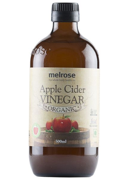 Organic Apple Cider Vinegar, Melrose (500ml)