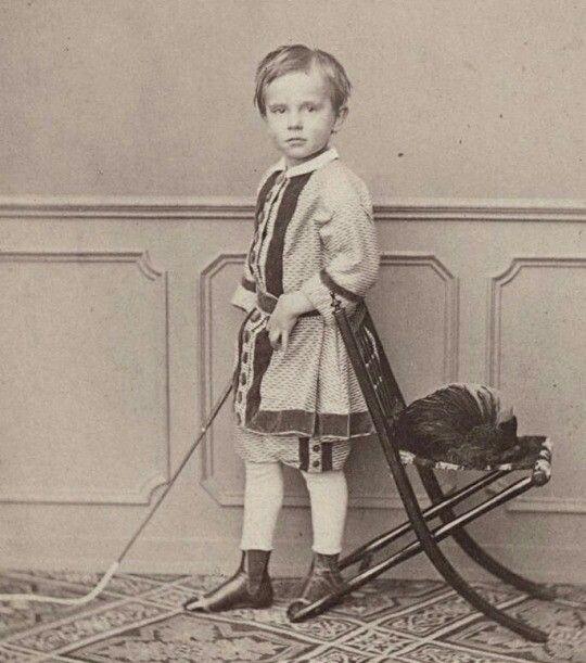 Rudolf was a very cute little boy
