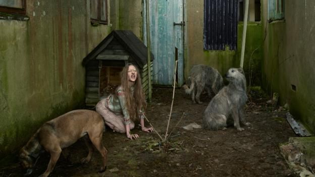 Julia Fullerton-Batten has created a series of disturbing photographs that tell the stories of children raised in the wild. She tells Fiona Macdonald about her haunting images.