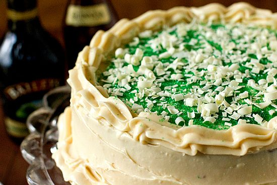 Guinness Chocolate Cake with Baileys Irish Cream Cheese Frosting - definitely making this for St. Patty's this year!