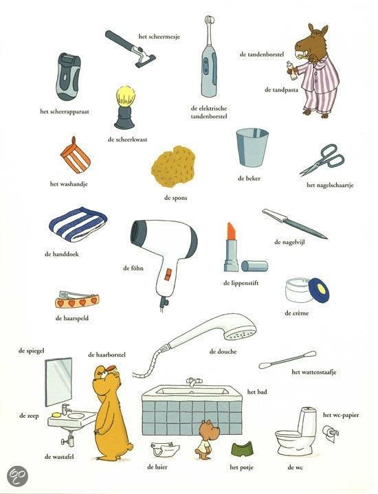 Badkamerspulletjes herkennen