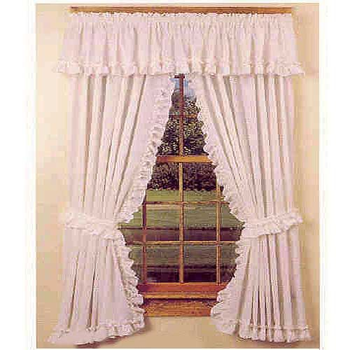 Cape Cod Ruffle Country Style Curtains Ideas For The