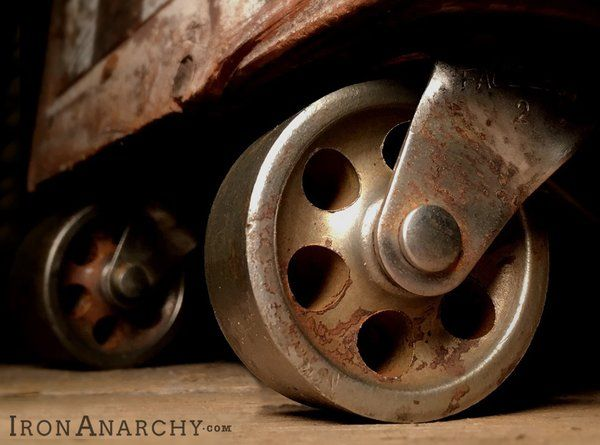 Antique Industrial Casters Ironanarchy Industrial Casters