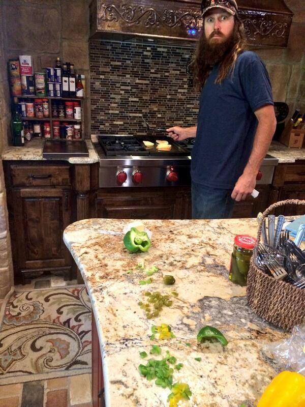 Image result for jase robertson kitchen