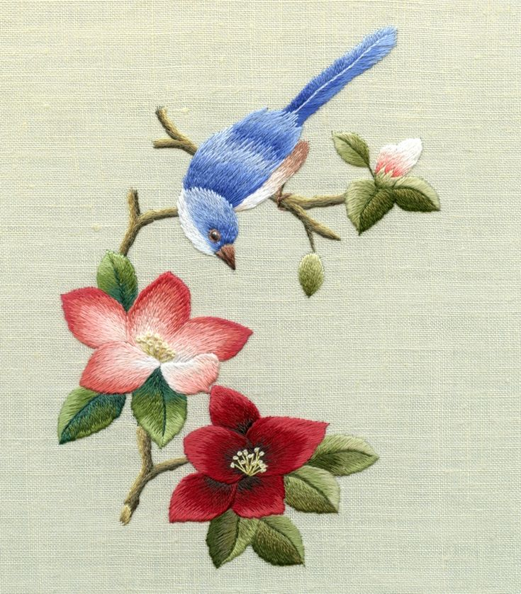 Chinese Birds | Chinese Flower & Bird project one