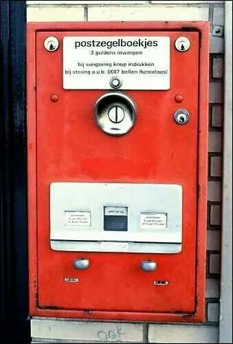 Postzegelautomaat