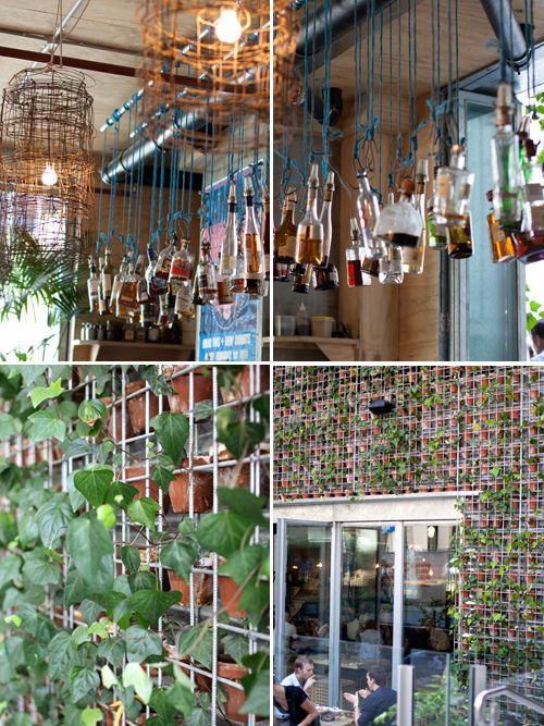Greenhouse Perth. Really nice true greenhouse restaurant décor! popuprepublic.com