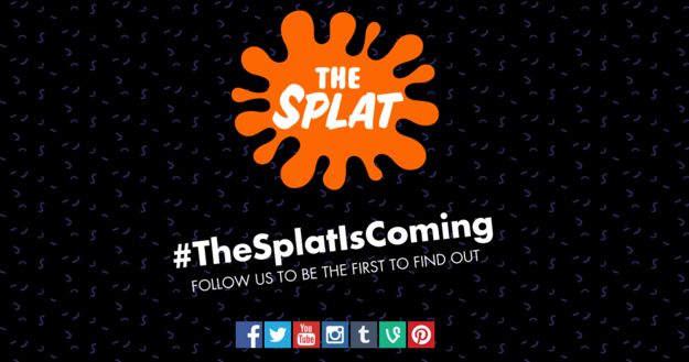 A basic website has also been launched which features all of the social media platforms for The Splat. | Nickelodeon Might Be Launching A Channel With Nothing But '90s Shows