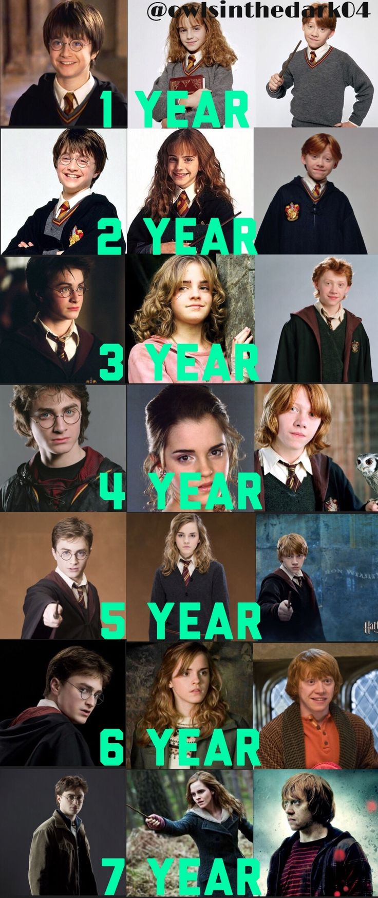 Hermione Granger, Ron Weasley and Harry Potter https://pagez.com/4136/36-rickdiculous-rick-and-morty-facts
