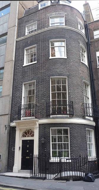 Robert Adam House, Adam Street, developed by Robert Adam as part of the Adelphi Development, 1774.