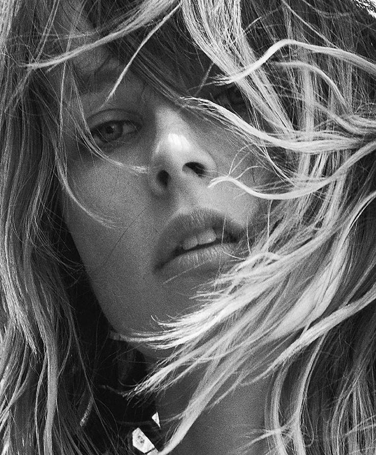 Photo Edie Campbell by Lachlan Bailey for Industrie Magazine