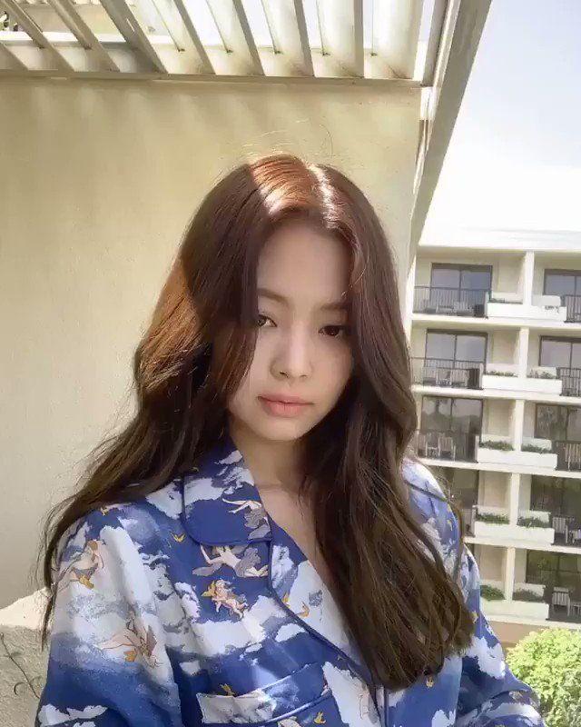 Jennie Thailand On Twitter Ig 190421 Jennierubyjane Ig S Story Blackpink Jennie Korean Long Hair Kim Hair Long Hair Styles