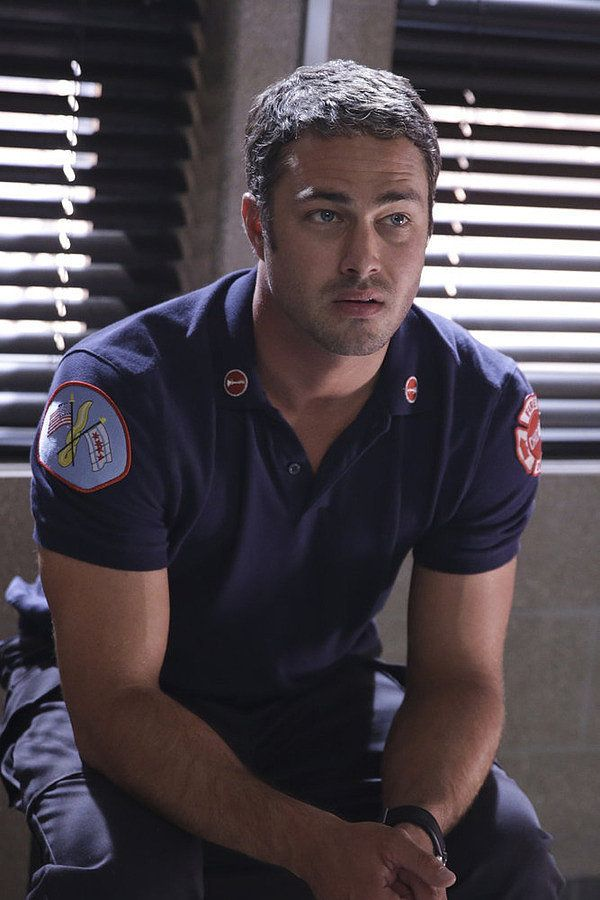 Taylor Kinney plays one handsome fireman on Chicago Fire