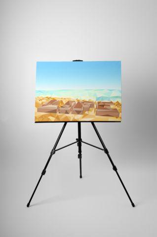 Life's A Beach – Low Polly Art