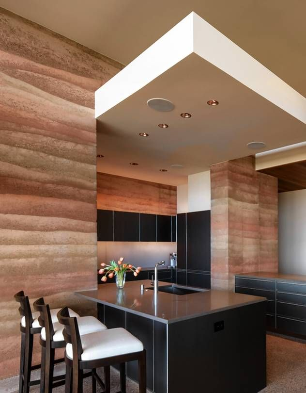 The kitchen of Rick Torcasso's 5,600-square-foot home, which sits on a ridge…