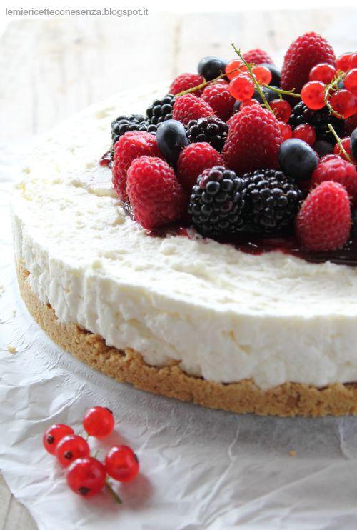 Cheesecake senza uova