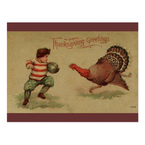 3451 best popular thanksgiving invitations images on pinterest vintage thanksgiving holiday postcard stopboris Images