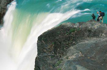 Outdoor adventure travel in Torres del Paine National Park.