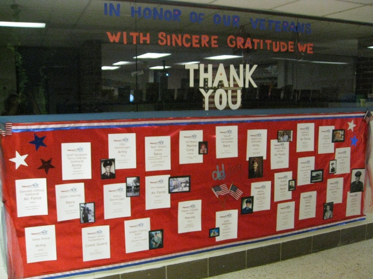 Veterans Day: A Time To Thank