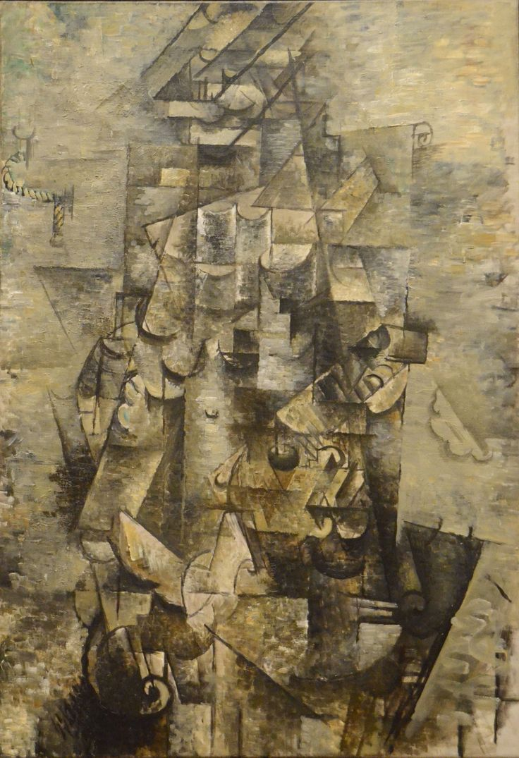 Georges Braque - Man with a Guitar