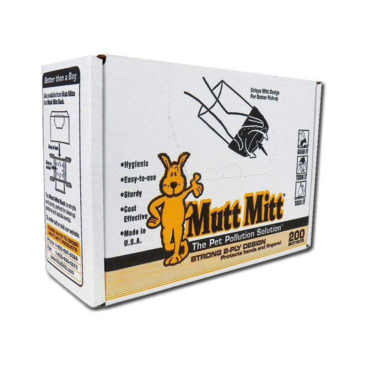 Mutt Mitt Waste Disposal Gloves 200 Pack