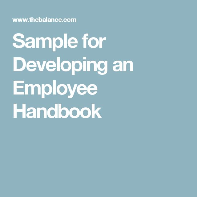Best Staff Handbook Images On   Brochures Employee