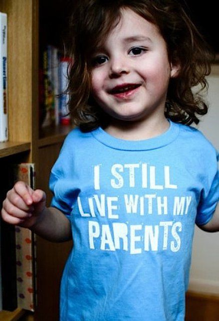 I Still Live With My Parents Tee