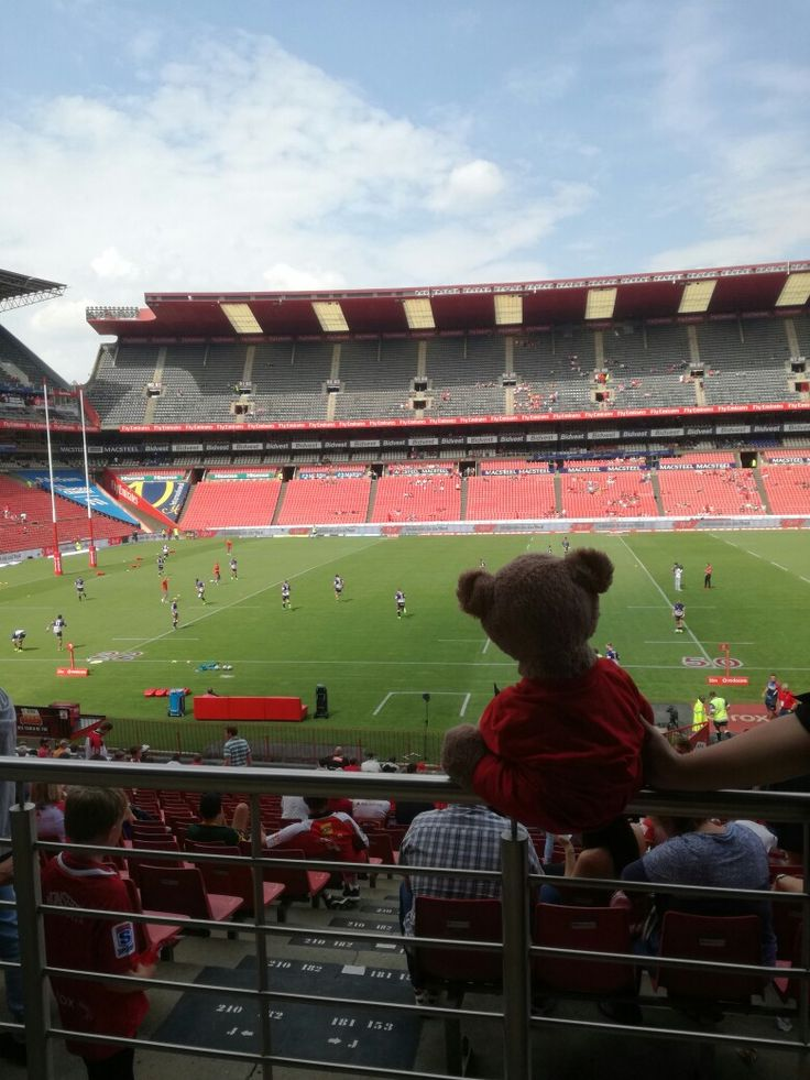 I love this beautiful stadium! Ready to watch some seriously good rugby today!  Go Lions!  #Lions4Life #LeyaTheLion #Liontainment #MyLionsMoment #BeThere #LIOvWAR
