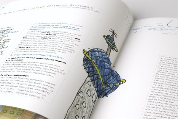 Tamdeen Real Estate - Annual Report 2006 by Nabil Zeineddine, via Behance
