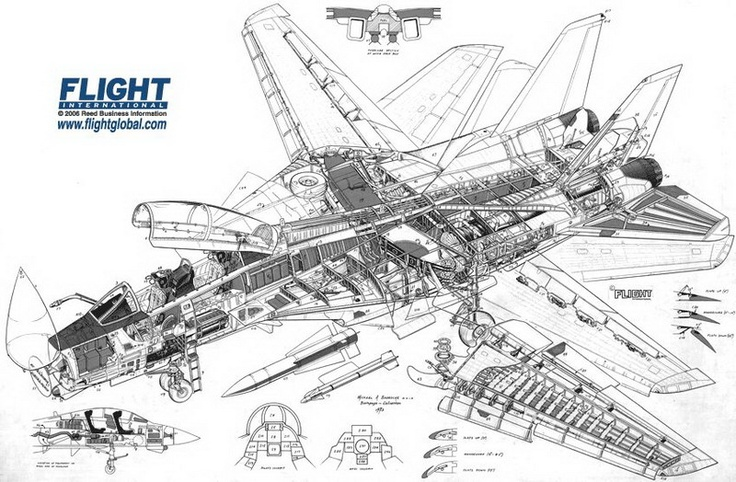 best ideas about aircraft profile cutaway  aircraft 3 view