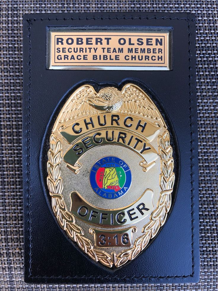 Church security badge in 2020 security badge badge