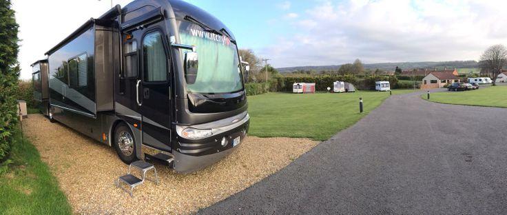 Wells Holiday Park, Haybridge, Wells, Somerset, England. Camping Holidy. UK Travel.