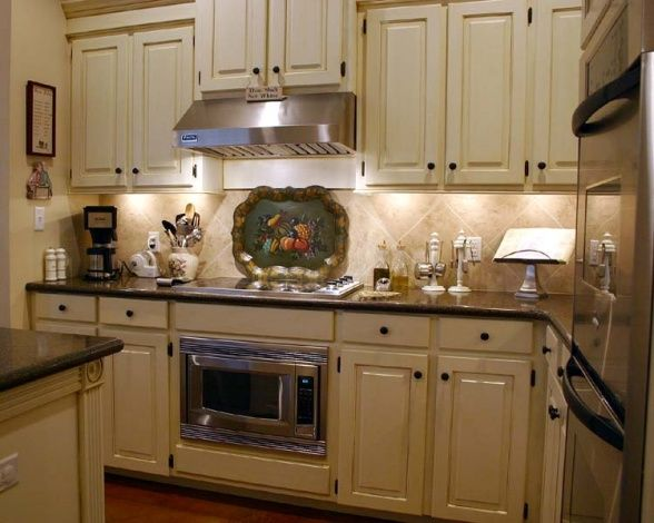 French Country Kitchen... can you tell I like white kitchens!?!?