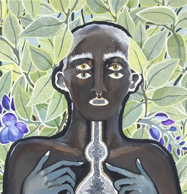 Odyssey and Oracle - Sydney artist Leah Fraser's paintings of shamans,